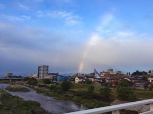 狭山市の虹20140522