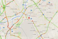【速報】国道16号線、狭山市鵜ノ木バス停付近でトラックの横転事故発生。