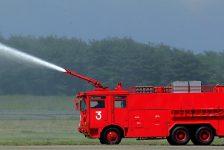 入間基地での火災訓練について