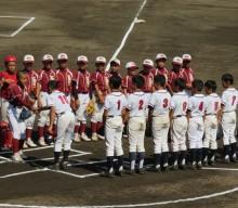 狭山の少年野球チームが全国大会出場。惜しくも一回戦敗退。