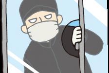 市内で男二人組が住宅に侵入
