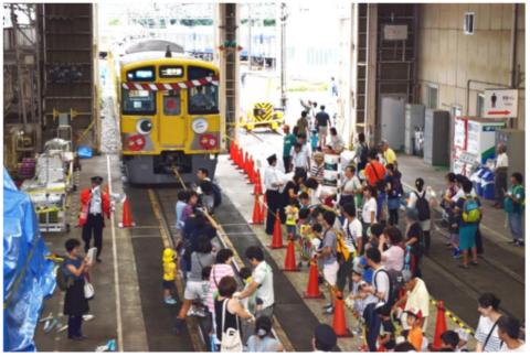 南入曽車両基地「電車夏まつり」!夏休みは身近な電車「西武鉄道」を楽しもう。