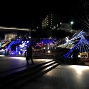狭山市駅イルミネーション2017
