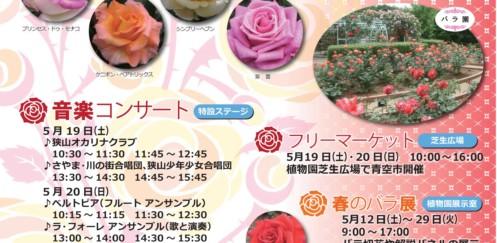 「春のバラフェスタ2018」開催中!