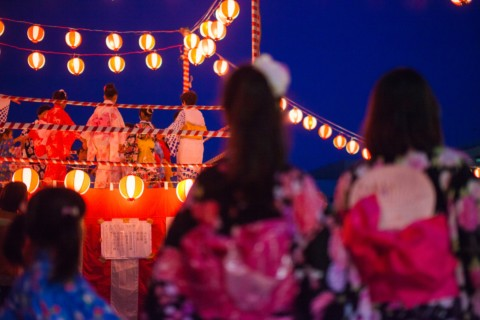 夏本番!市内各地で盆踊りや夏祭りが開催されます。
