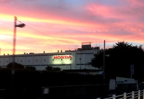 ホンダ営業利益上方修正、狭山工場は予定通り閉鎖へ。