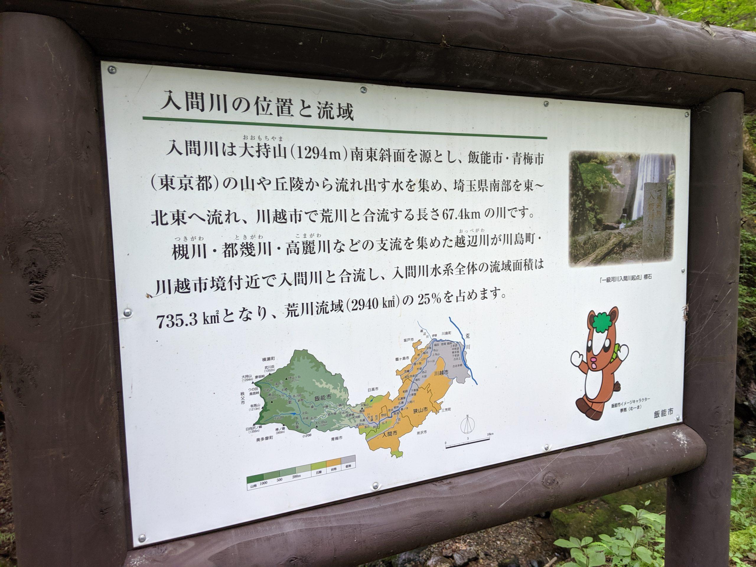 i-Sayama 入間川の起点